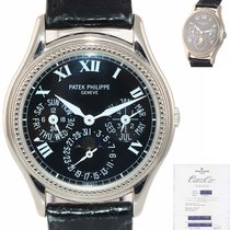 Patek Philippe Perpetual Calendar White gold 36mm Black United States of America, New York, Huntington