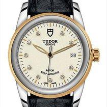 Tudor Glamour Date Steel 36mm White