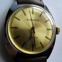 Kienzle Steel Manual winding Champagne No numerals 35mm pre-owned