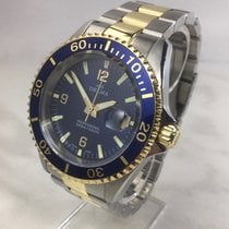 Delma Gold/Steel 42mm Quartz 52701.562.6.044 pre-owned