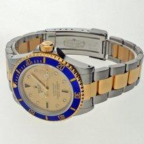 Rolex Submariner Date Aur/Otel 40mm Galben Fara cifre