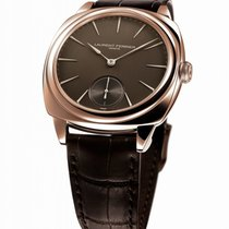 Laurent Ferrier White gold Automatic Brown 41mm new