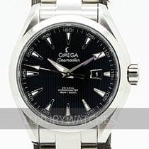Omega Seamaster Aqua Terra Сталь 34mm Чёрный