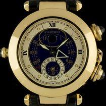 Cartier 18k Y/G Pasha Moon Date Alarm Grande Complication Gents