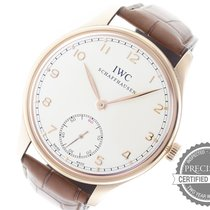 IWC Portuguese Hand-Wound Rose gold 44mm White Arabic numerals United States of America, Pennsylvania, Willow Grove