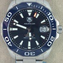 TAG Heuer Aquaracer 300M Steel 41,00mm Blue No numerals