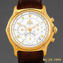 Ebel 1911 Le Modulor Chronograph 18K Gold  42 MM  Box Papers