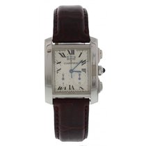 Cartier Tank Française pre-owned 29mm Steel