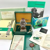 Rolex Submariner 1680 Red Meter First Tropical fullset box &...