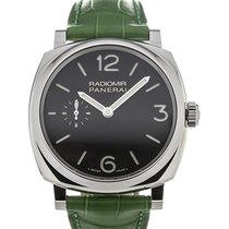 Panerai Radiomir 1940 42mm Hand Wound Green Leather Strap