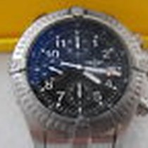 Breitling Chrono Avenger Mens E13360 300m Titanium Black Auto...