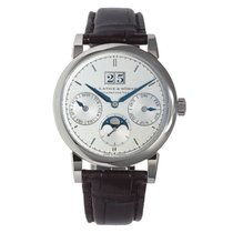 A. Lange & Söhne 330.026 White gold 2011 Saxonia 38.5mm pre-owned