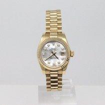Rolex 179178 Or jaune 2005 Lady-Datejust 26mm occasion