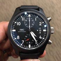 IWC Pilot Chronograph Top Gun pre-owned 46mm Ceramic
