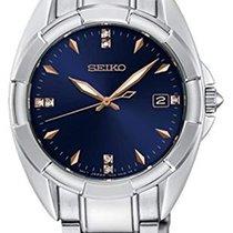 Seiko SKK889P1 SEIKO CLASSIC LADY Acciaio Blu Quarzo 33,3mm new