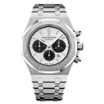 Audemars Piguet Royal Oak Chronograph Steel Silver Dial 41mm