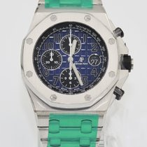 Audemars Piguet Royal Oak Offshore Chronograph Platinum 42mm Grey United States of America, New York, New York