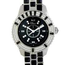 Dior 33mm Quartz pre-owned Christal Black