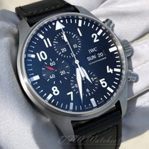 IWC IW377709 Steel 2016 Pilot Chronograph 43mm pre-owned United States of America, Texas, Frisco