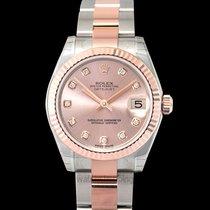 Rolex Lady-Datejust Aur roz 31mm Roz