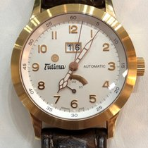 Tutima Rose gold 38mm Automatic Tutima Gold Valeo Reserve 750 new