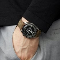 Omega Speedmaster Professional Moonwatch Zeljezo 40mm Crn