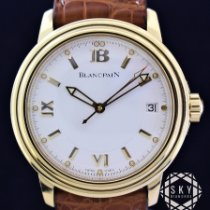 Blancpain Yellow gold 38mm Automatic Léman Ultra Slim pre-owned