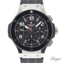 Hublot Big Bang 44 mm Acero 44mm Negro Árabes