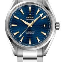 Omega Seamaster Aqua Terra Steel 41.5mm Blue