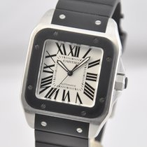Cartier Santos 100 Steel 38mm White Roman numerals United States of America, Ohio, Mason