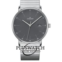 Junghans FORM A Otel 39mm Gri