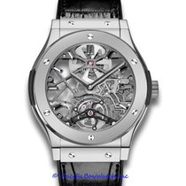 Hublot Platinum Automatic Silver 45mm pre-owned Classic Fusion 45, 42, 38, 33 mm