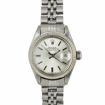 Rolex Oyster Perpetual Lady Date Steel 26mm Silver United States of America, New York, Massapequa Park