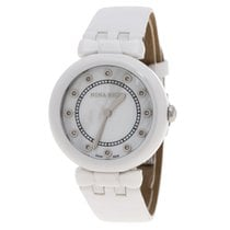 Nina Ricci Keramiek Quartz Nina Ricci White Mother of Pearl and Diamonds Ceramic N05400 nieuw