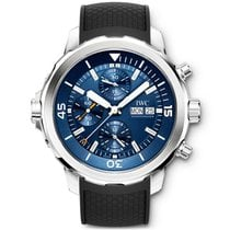 IWC Aquatimer Chronograph Steel 44mm Blue No numerals United States of America, Iowa, Des Moines