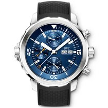 IWC Steel Automatic Blue No numerals 44mm new Aquatimer Chronograph