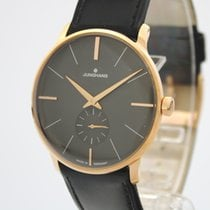 Junghans Meister Hand-winding Steel 37mm Black