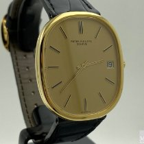Patek Philippe Golden Ellipse Yellow gold 38mm Gold No numerals