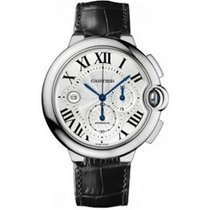 Cartier Ballon Bleu 42mm new Automatic Chronograph Watch with original box and original papers W6920005