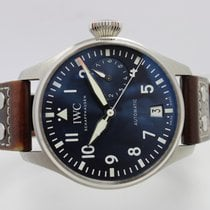 IWC Big Pilot Stål 46mm Blå Arabisk