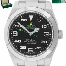 Rolex Air King Steel 40mm Yellow Arabic numerals United States of America, New York, Smithtown