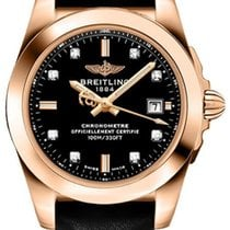 Breitling Galactic Rose gold Black No numerals United States of America, Florida, Miami