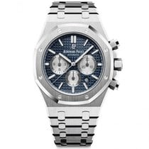 Audemars Piguet Royal Oak Chronograph Steel 41mm Blue No numerals United States of America, Iowa, Des Moines