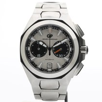 Girard Perregaux Chrono Hawk Acero 44mm Blanco