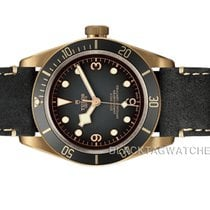 Tudor Bronze Automatic Grey Arabic numerals 43mm new Black Bay Bronze