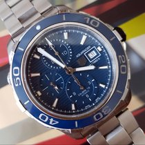 TAG Heuer Aquaracer 500M new 2016 Automatic Chronograph Watch with original box and original papers CAK2112.BA0833