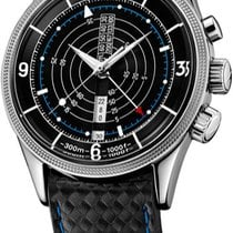 Vulcain Nautical Steel 51mm Black United States of America, New York, Brooklyn