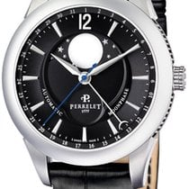 Perrelet Moonphase Acél 42mm