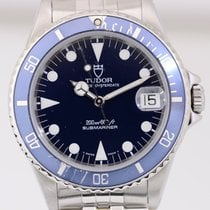 Tudor Submariner Medium Klassiker Tudor Faltband blue Top Papiere