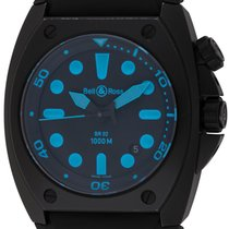 Bell & Ross : BR 02 Marine :  BR02-20-S :  Black carbon...